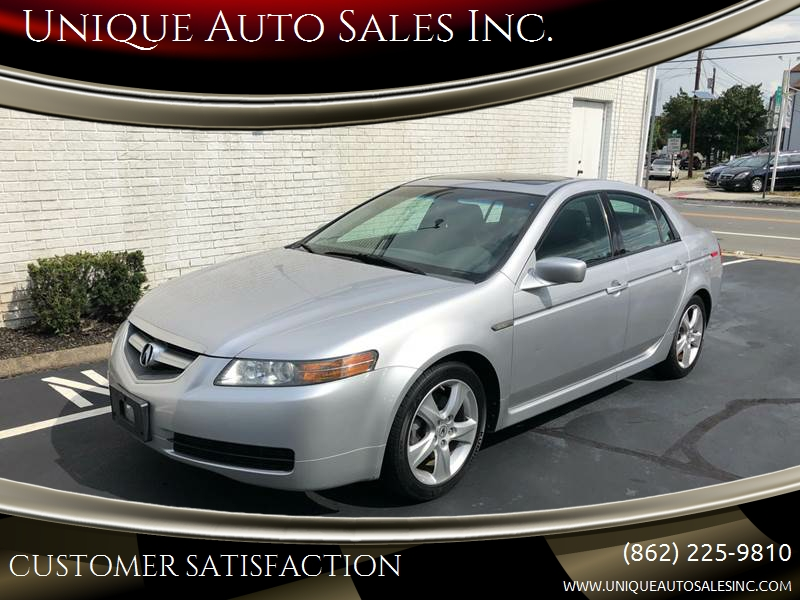 Acura TL WNavi In Clifton NJ Unique Auto Sales Inc - Acura tl 2006 for sale