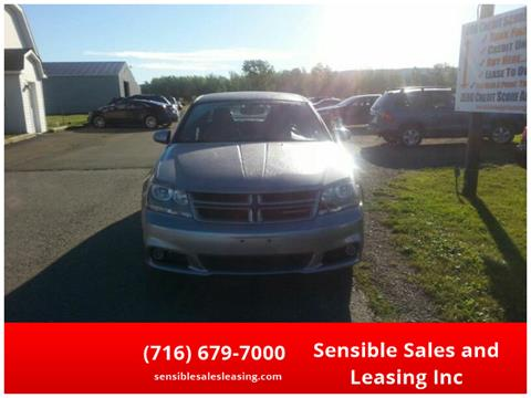 2013 Dodge Avenger for sale in Fredonia, NY