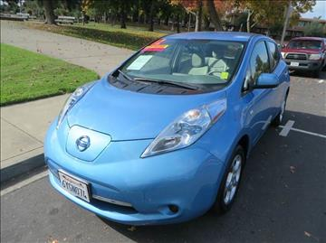 2012 Nissan LEAF for sale in Vacaville, CA