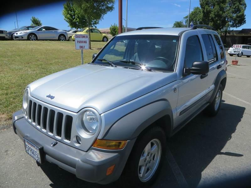 2005 Jeep Liberty Renegade 4WD 4dr SUV   Vacaville CA