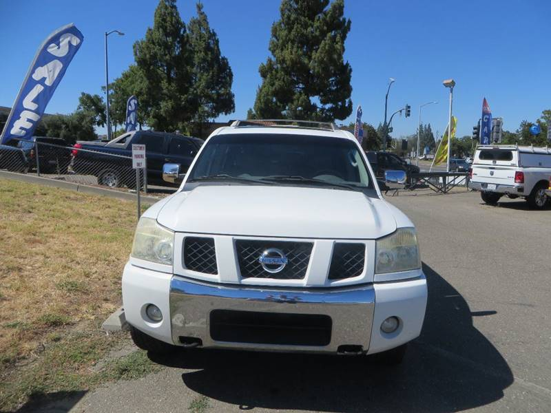 2004 Nissan Armada In Vacaville CA - Family Auto Centers