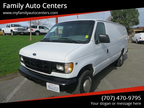 1999 Ford E-250 for sale in Vacaville, CA