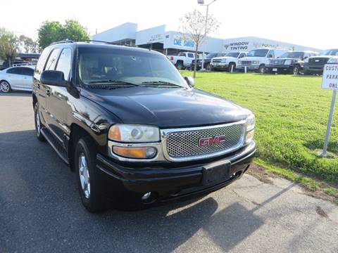 2002 GMC Yukon for sale in Vacaville, CA