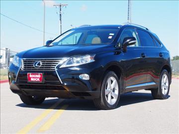 2013 Lexus RX 350 for sale in Round Rock, TX