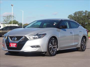 2016 Nissan Maxima for sale in Round Rock, TX