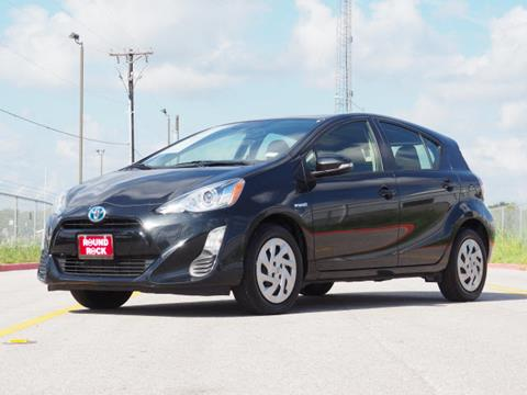 2016 Toyota Prius c for sale in Round Rock, TX