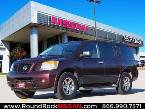 2014 Nissan Armada for sale in Round Rock, TX