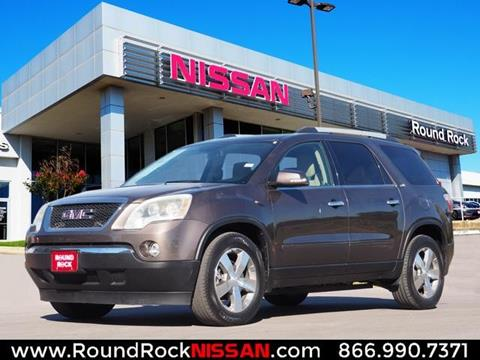 2012 GMC Acadia for sale in Round Rock, TX