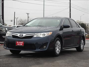 2014 Toyota Camry for sale in Round Rock, TX