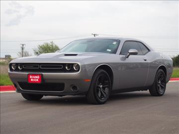 2016 Dodge Challenger for sale in Round Rock, TX