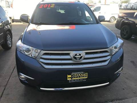2012 Toyota Highlander for sale in Denver, CO