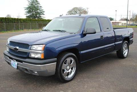 2004 Chevrolet Silverado 1500 for sale at Xtreme Truck Sales in Woodburn OR