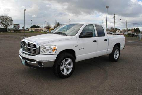 2008 Dodge Ram Pickup 1500 for sale at Xtreme Truck Sales in Woodburn OR