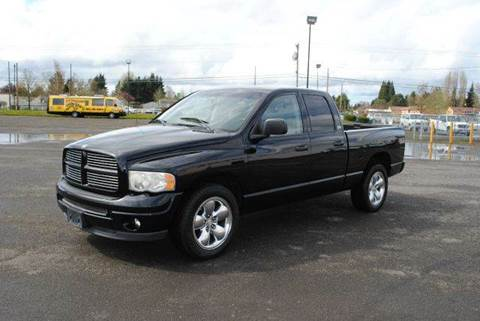 2002 Dodge Ram Pickup 1500 for sale at Xtreme Truck Sales in Woodburn OR