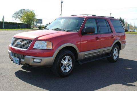 2003 Ford Expedition for sale at Xtreme Truck Sales in Woodburn OR
