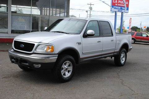 2002 Ford F-150 for sale at Xtreme Truck Sales in Woodburn OR