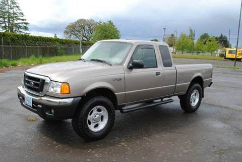 2004 Ford Ranger for sale at Xtreme Truck Sales in Woodburn OR