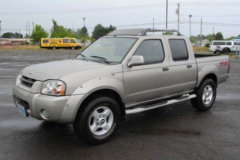 2001 Nissan Frontier for sale at Xtreme Truck Sales in Woodburn OR