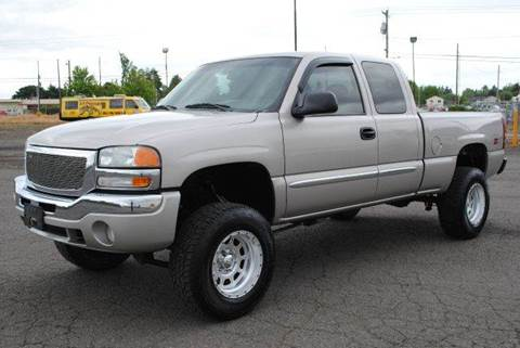 2004 GMC Sierra 1500 for sale at Xtreme Truck Sales in Woodburn OR