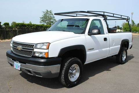 2005 Chevrolet Silverado 2500 for sale at Xtreme Truck Sales in Woodburn OR