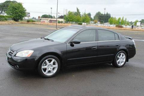 2002 Nissan Altima for sale at Xtreme Truck Sales in Woodburn OR