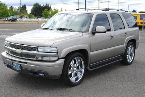 2002 Chevrolet Tahoe for sale at Xtreme Truck Sales in Woodburn OR
