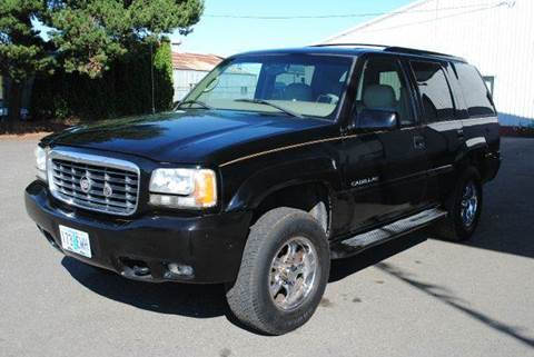 1999 Cadillac Escalade for sale at Xtreme Truck Sales in Woodburn OR