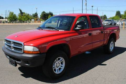 2004 Dodge Dakota for sale at Xtreme Truck Sales in Woodburn OR
