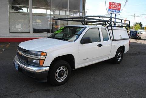 2004 Chevrolet Colorado for sale at Xtreme Truck Sales in Woodburn OR