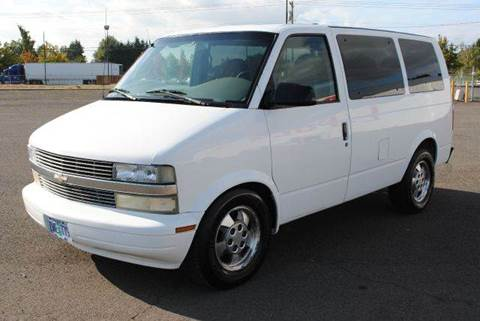 2003 Chevrolet Astro for sale at Xtreme Truck Sales in Woodburn OR