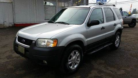 2003 Ford Escape for sale at Xtreme Truck Sales in Woodburn OR