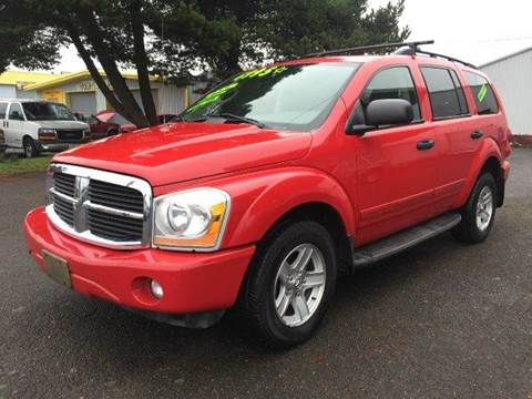 2004 Dodge Durango for sale at Xtreme Truck Sales in Woodburn OR