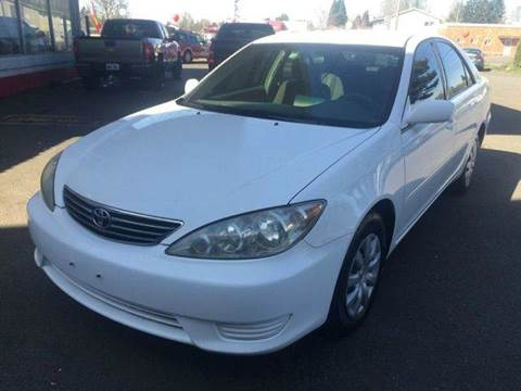 2005 Toyota Camry for sale at Xtreme Truck Sales in Woodburn OR