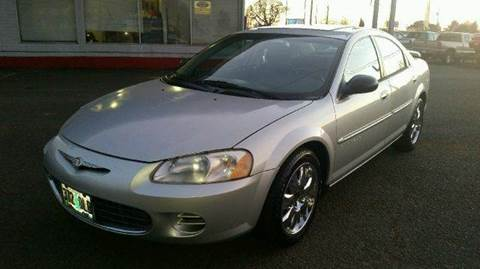 2001 Chrysler Sebring for sale at Xtreme Truck Sales in Woodburn OR