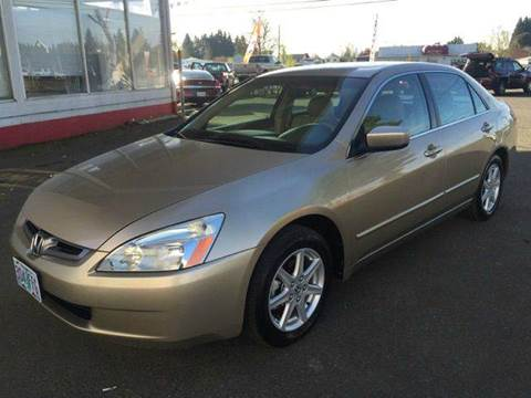 2004 Honda Accord for sale at Xtreme Truck Sales in Woodburn OR