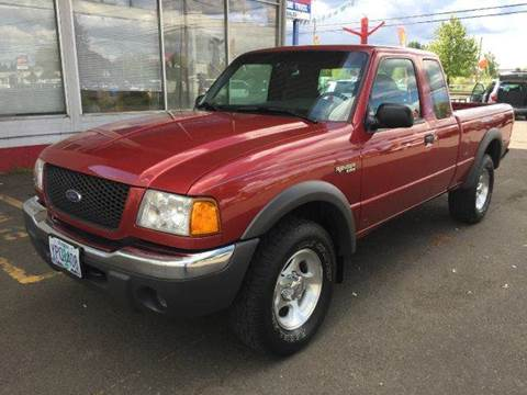 2001 Ford Ranger for sale at Xtreme Truck Sales in Woodburn OR