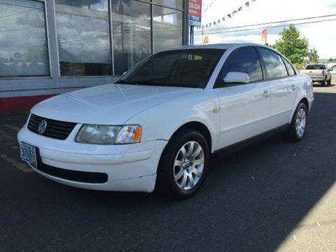 1999 Volkswagen Passat for sale at Xtreme Truck Sales in Woodburn OR