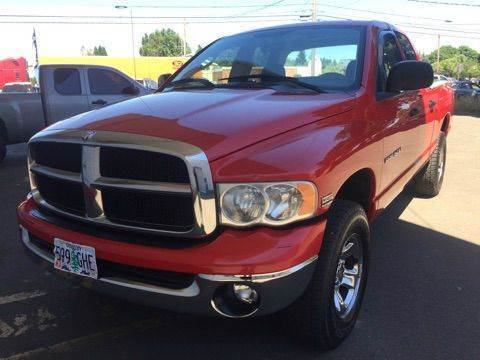 2003 Dodge Ram Pickup 1500 for sale at Xtreme Truck Sales in Woodburn OR