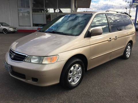 2002 Honda Odyssey for sale at Xtreme Truck Sales in Woodburn OR