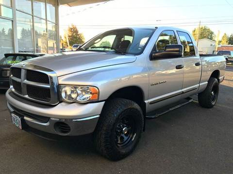 2004 Dodge Ram Pickup 1500 for sale at Xtreme Truck Sales in Woodburn OR