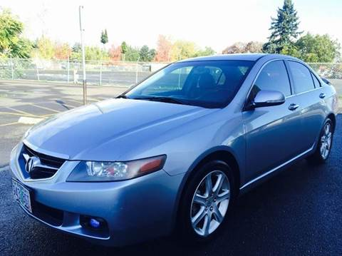 2004 Acura TSX for sale at Xtreme Truck Sales in Woodburn OR