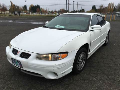 1999 Pontiac Grand Prix for sale at Xtreme Truck Sales in Woodburn OR
