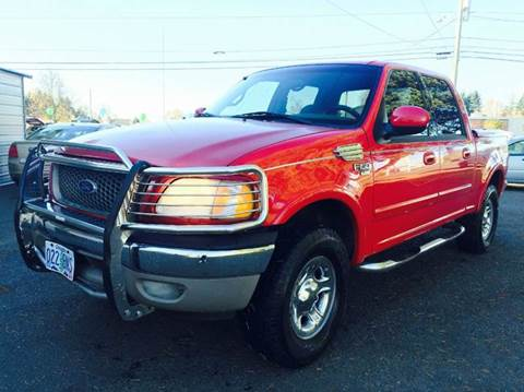 2001 Ford F-150 for sale at Xtreme Truck Sales in Woodburn OR