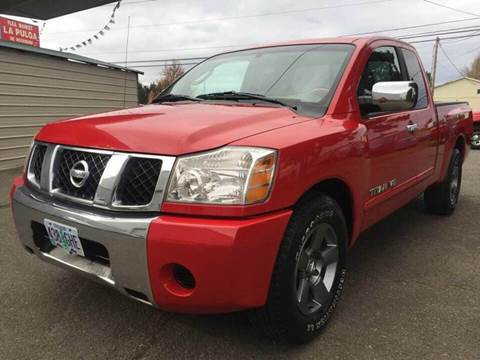 2005 Nissan Titan for sale at Xtreme Truck Sales in Woodburn OR