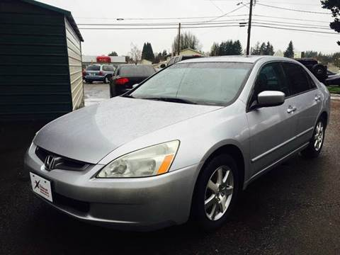 2005 Honda Accord for sale at Xtreme Truck Sales in Woodburn OR