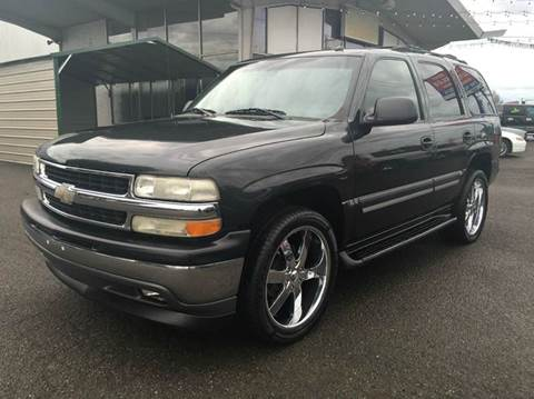 2005 Chevrolet Tahoe for sale at Xtreme Truck Sales in Woodburn OR