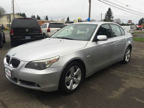 2006 BMW 5 Series for sale at Xtreme Truck Sales in Woodburn OR