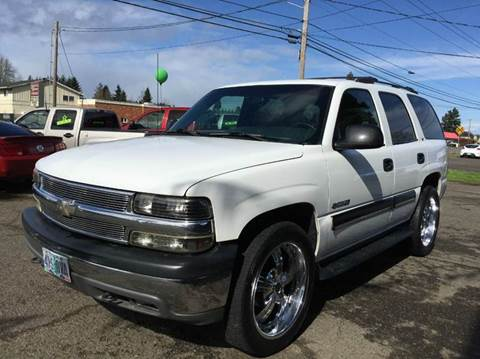 2001 Chevrolet Tahoe for sale at Xtreme Truck Sales in Woodburn OR