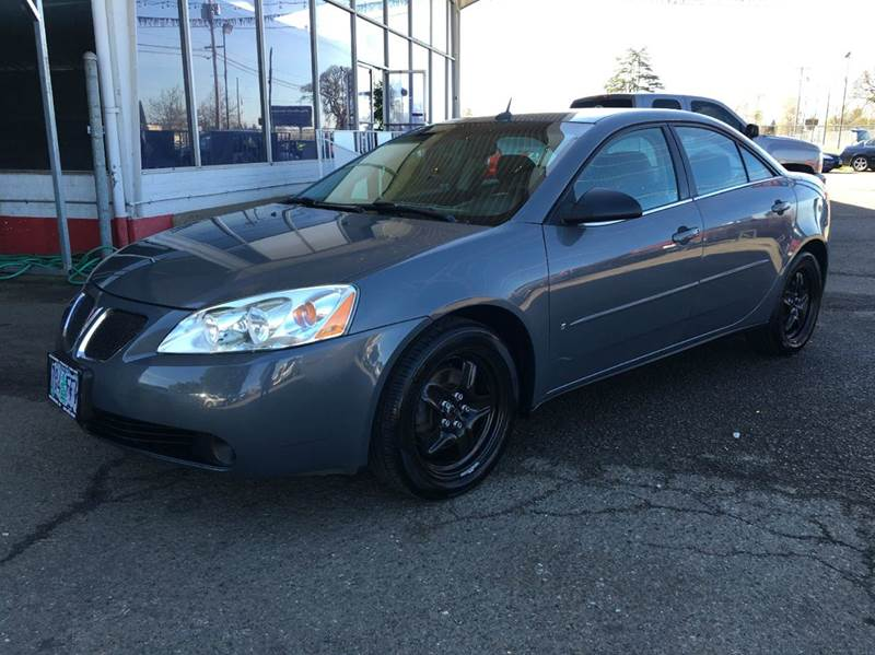 2008 Pontiac G6 for sale at Xtreme Truck Sales in Woodburn OR