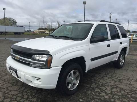 2005 Chevrolet TrailBlazer for sale at Xtreme Truck Sales in Woodburn OR